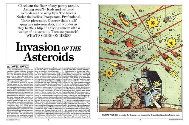 Invasion of the Asteroids