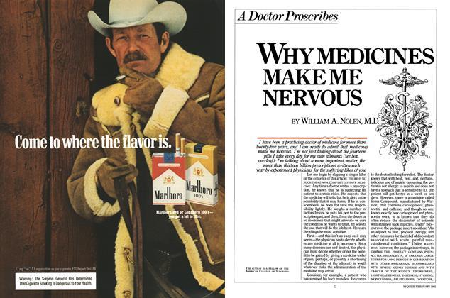 Why Medicines Make Me Nervous