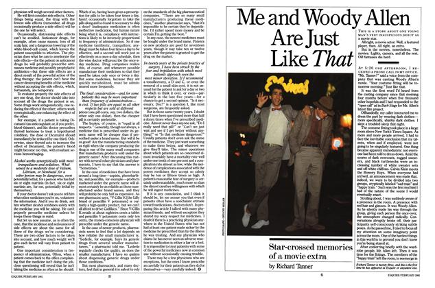 Me and Woody Allen Are Just Like That