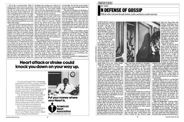 Article Preview: In Defense of Gossip, FEBRUARY 1981 1981 | Esquire