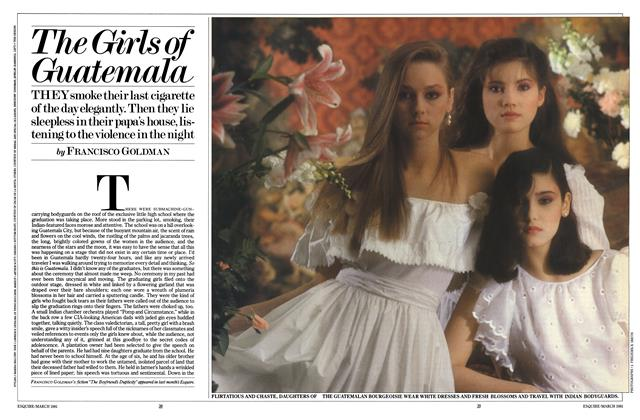 Article Preview: The Girls of Guatemala, MARCH 1981 1981 | Esquire