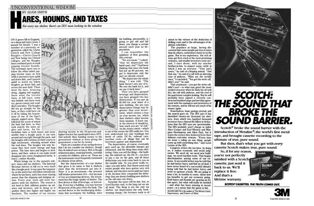 Article Preview: Hares, Hounds, and Taxes, MARCH 1981 1981 | Esquire