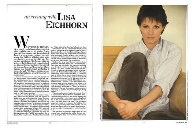 An Evening with Lisa Eichhorn