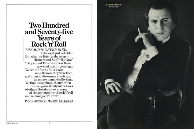 Two Hundred and Seventy-five Years of Rock 'n' Roll