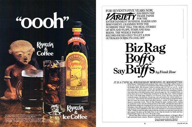 Article Preview: Biz Rag Boffo Say Buffs, MAY 1981 1981   Esquire