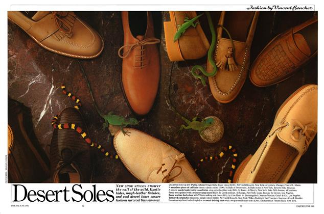 Article Preview: Desert Soles, JUNE 1981 1981 | Esquire