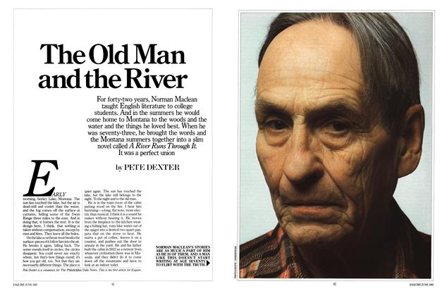 Article Preview: The Old Man and the River, JUNE 1981 1981 | Esquire