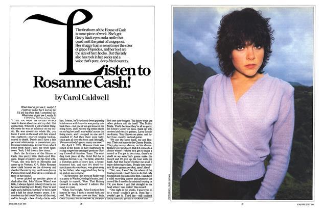 Listen to Rosanne Cash!