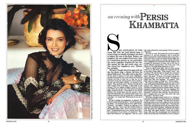 An Evening with Persis Khambatta