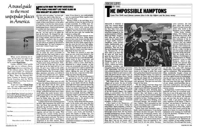 Article Preview: The Impossible Hamptons, JULY 1981 1981 | Esquire
