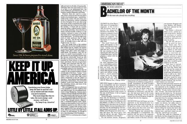 Article Preview: Bachelor of the Month, AUGUST 1981 1981 | Esquire