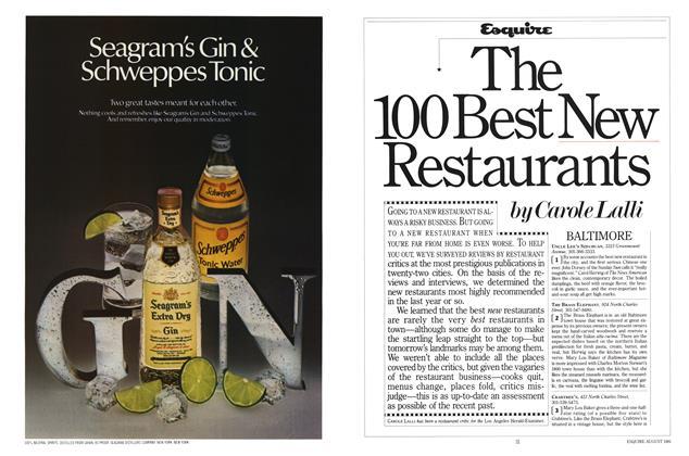 The 100 Best New Restaurants