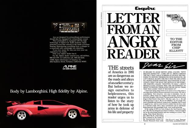 Letter From an Angry Reader