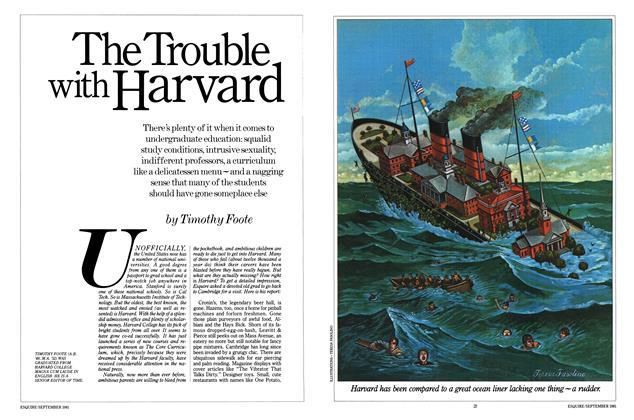The Trouble with Harvard