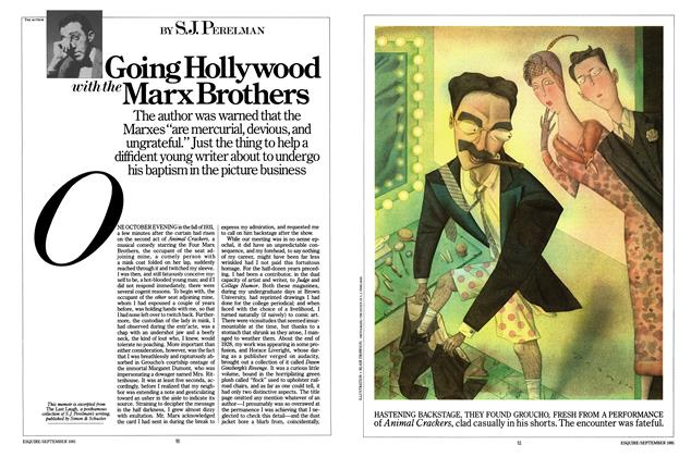 Going Hollywood with the Marx Brothers