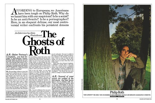 The Ghosts of Roth