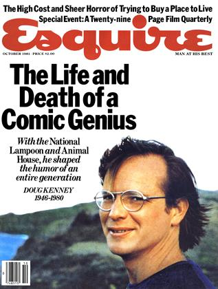 OCTOBER 1981 | Esquire