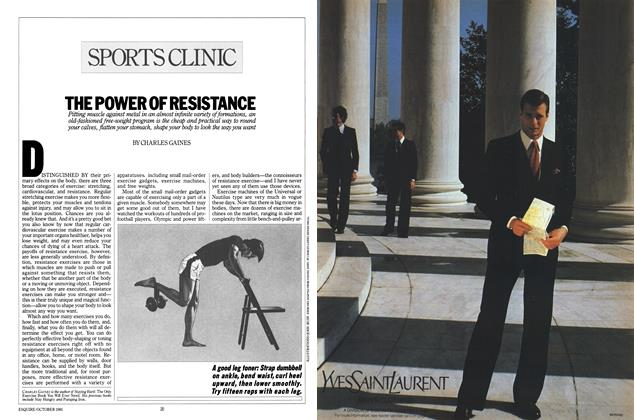 Article Preview: The Power of Resistance, OCTOBER 1981 1981 | Esquire