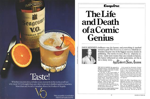 Article Preview: The Life and Death of a Comic Genius, October 1981 | Esquire
