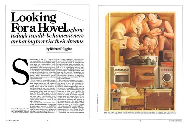Article Preview: Looking for a Hovel , October 1981 | Esquire