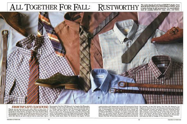 Article Preview: All Together for Fall: Rustworthy, OCTOBER 1981 1981 | Esquire