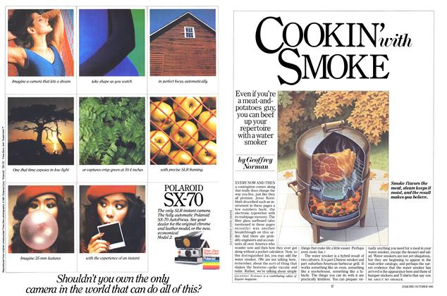 Article Preview: Cookin' with Smoke, October 1981 | Esquire