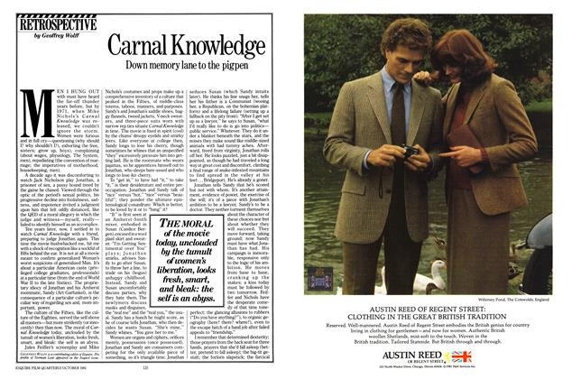 Article Preview: Carnal Knowledge, OCTOBER 1981 1981 | Esquire
