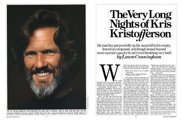 Article Preview: The Very Long Nights of Kris Kristofferson, NOVEMBER 1981 1981   Esquire