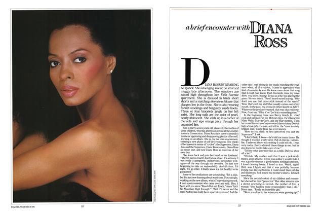 A Brief Encounter with Diana Ross
