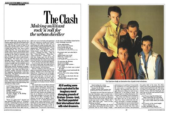 The Clash - December | Esquire