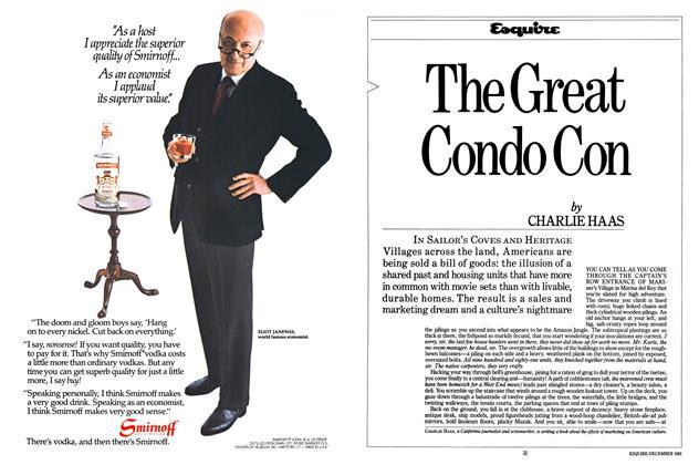 Article Preview: The Great Condo Con, December 1981 | Esquire