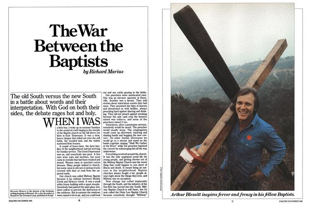 The War Between the Baptists