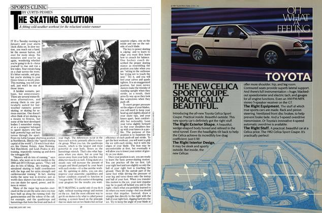 Article Preview: The Skating Solution, January 1982 | Esquire