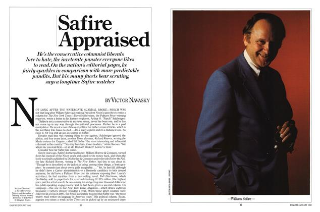 Article Preview: Safire Appraised, January 1982 | Esquire