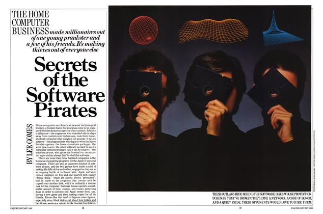 Article Preview: Secrets of the Software Pirates, January 1982 | Esquire