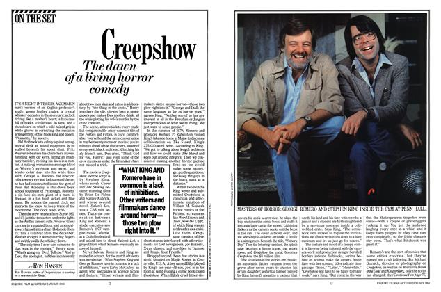 Article Preview: Creepshow, JANUARY 1982 1982 | Esquire