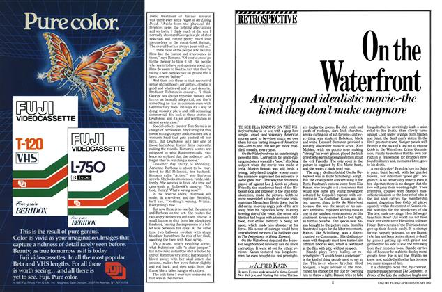 Article Preview: On the Waterfront, JANUARY 1982 1982 | Esquire