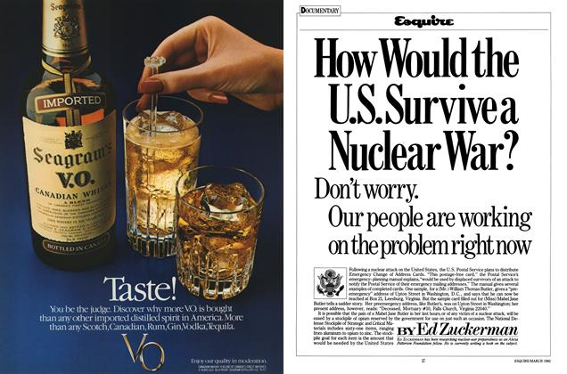 Article Preview: How Would the U.S. Survive a Nuclear War?, MARCH 1982 1982 | Esquire