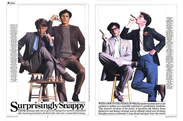 Article Preview: Surprisingly Snappy, MARCH 1982 1982 | Esquire
