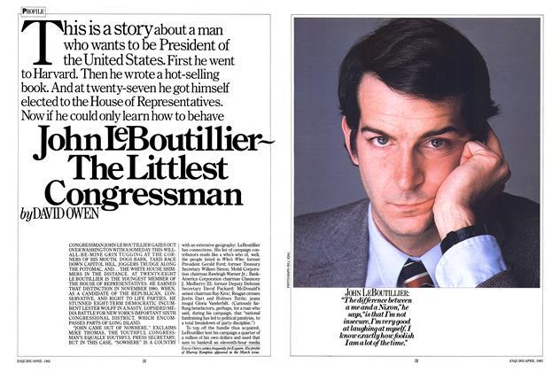 John Le Boutillier ~ The Littlest Congressman