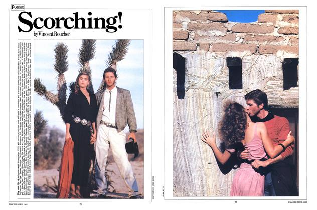 Article Preview: Scorching!, APRIL 1982 1982 | Esquire