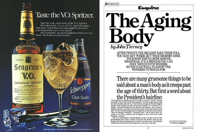Article Preview: The Aging Body, MAY 1982 1982 | Esquire