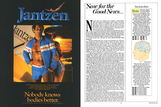 Article Preview: Now for the Good News..., MAY 1982 1982 | Esquire