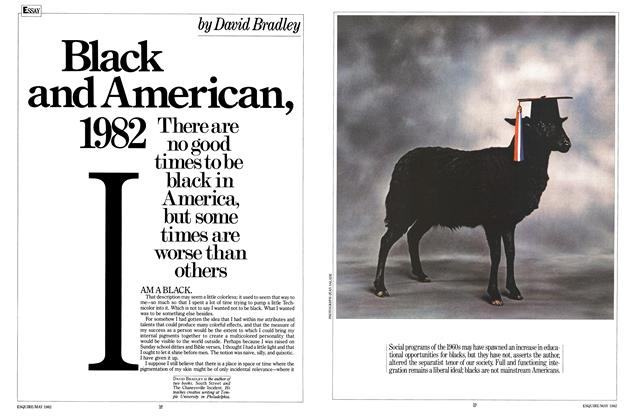 Article Preview: Black and American, 1982, MAY 1982 1982 | Esquire