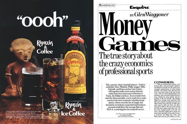 Article Preview: Money Games, JUNE 1982 1982 | Esquire