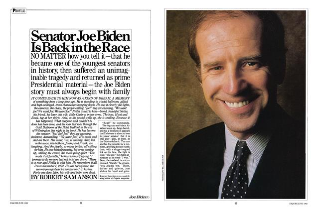 Article Preview: Senator Joe Biden Is Back in the Race, June 1982 | Esquire