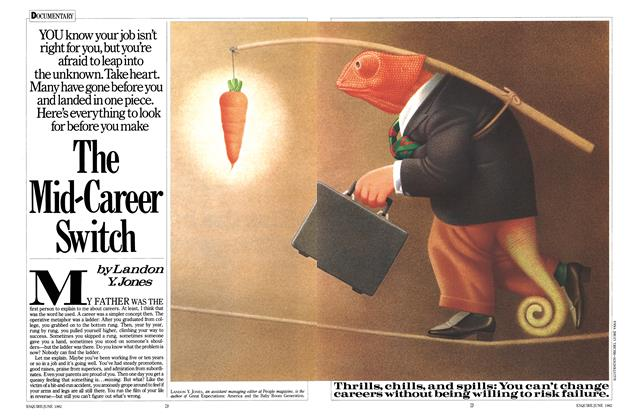 Article Preview: The Mid-Career Switch, JUNE 1982 1982 | Esquire