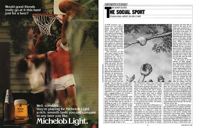 Article Preview: The Social Sport, JULY 1982 1982 | Esquire