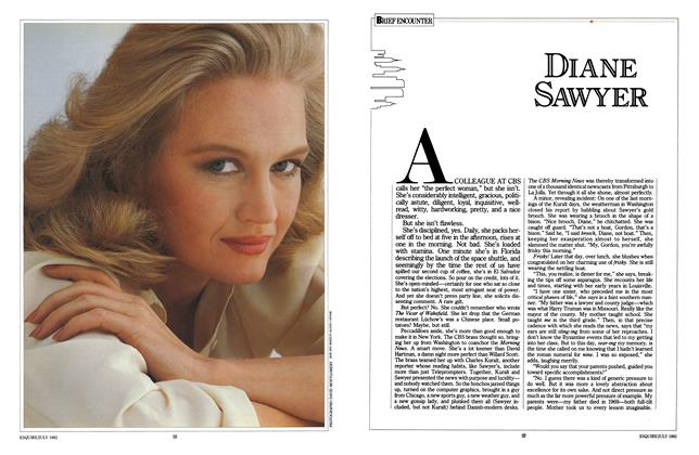 Article Preview: Diane Sawyer, JULY 1982 1982 | Esquire