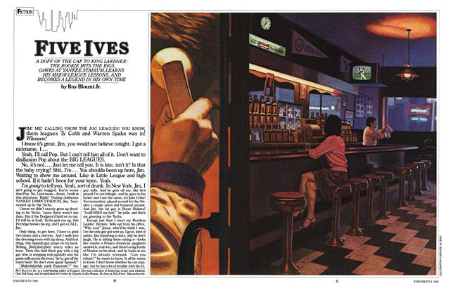 Article Preview: Five Ives, July 1982   Esquire